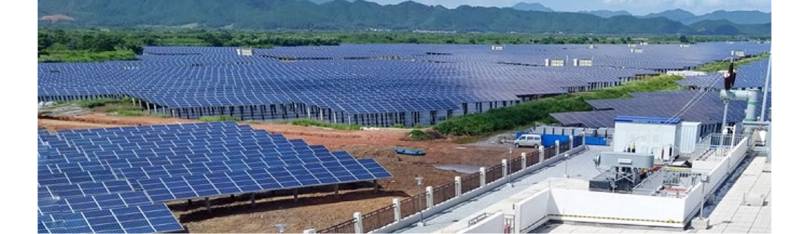 50MW Fishery PV Project of Guangzhou Development Group Incorporated in Taishan, China