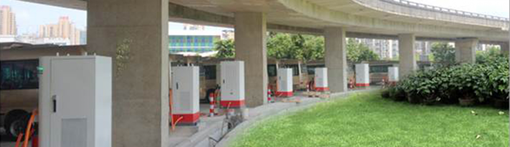 Bus Charging Stations in Multiple Areas of Fujian, China